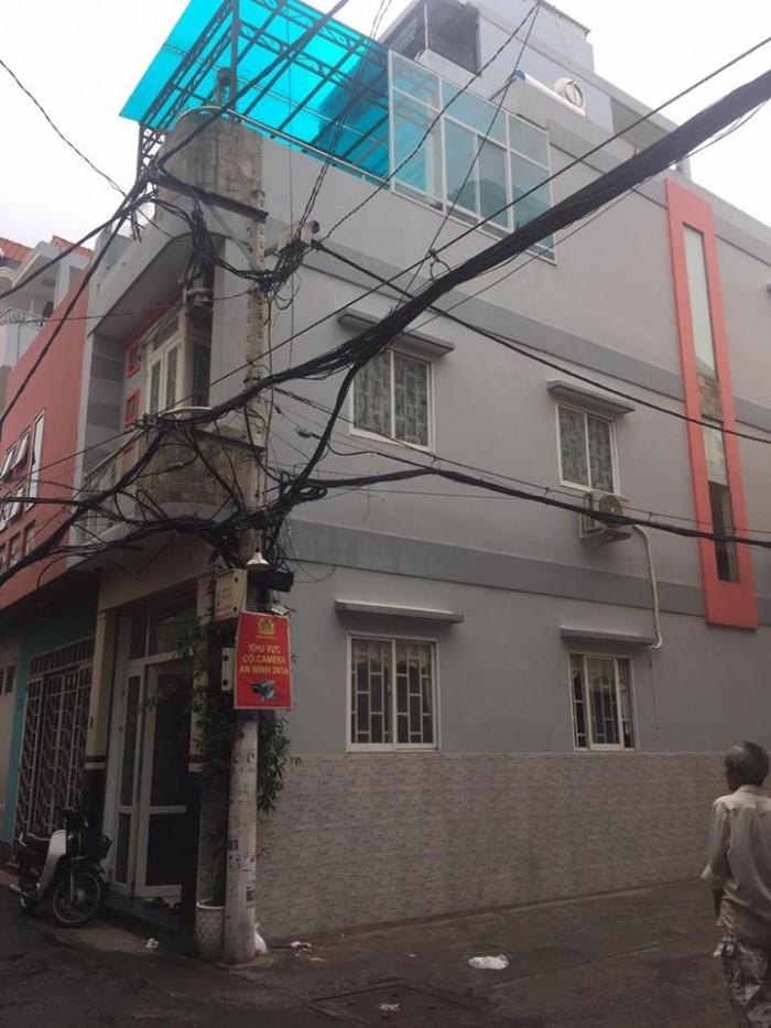 Bán nhà 2MT hẻm Lê Văn Sỹ, P.1, TB: *5,5x16m*, 1 Trệt 3 Lầu, 12,5 Tỷ.