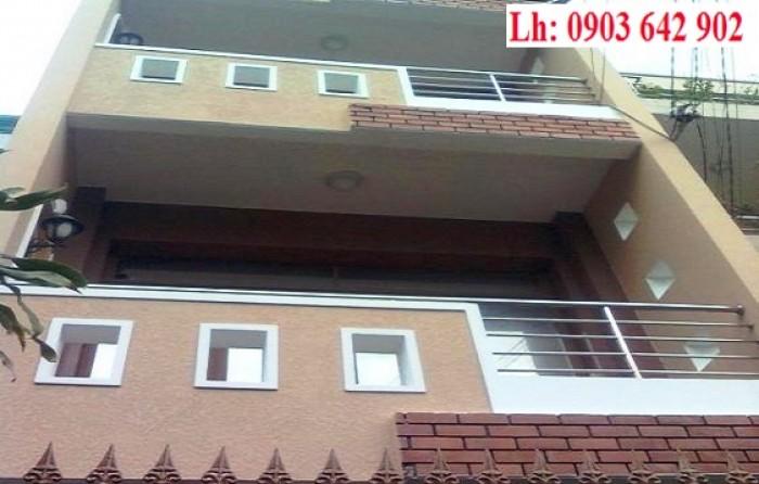 Bán nhà mặt tiền HXH Cống Quỳnh, Quận 1. Dt 7x17m, giá 16 tỷ