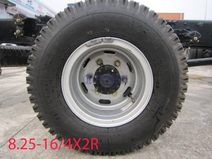 Xe nâng tải 8 tấn HD120s - Giá xe 8 tấn nâng tải - Khuyến mãi trước bạ xe HD120s 8 tấn 3