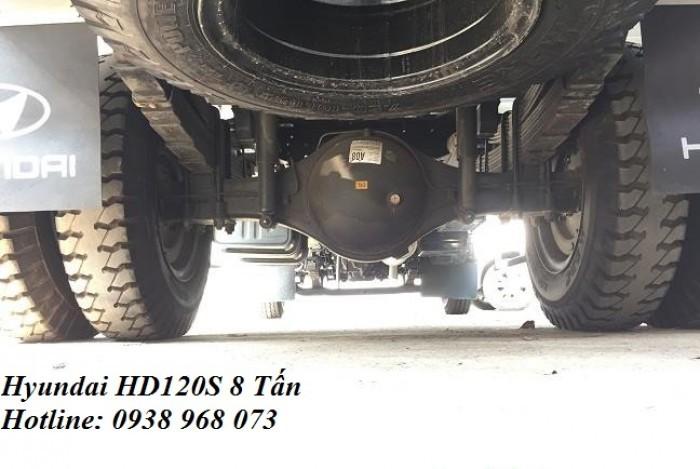 Khuyến mãi trước bạ xe các dòng xe hyundai Đô Thành - Xe HD120s 8 tấn khuyến mãi trước bạ 2