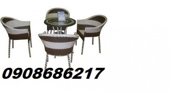 Chuyên sản xuất bàn ghế mây giá rẻ2