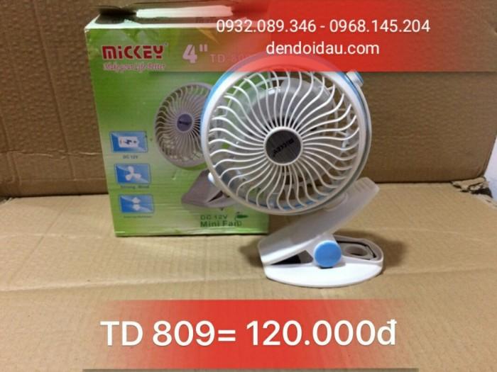 Quạt sạc TD-809 Gía bán : 120.000