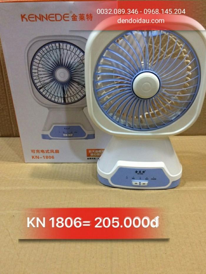 Quạt sạc KN-1806 Gía bán : 205.0000đ