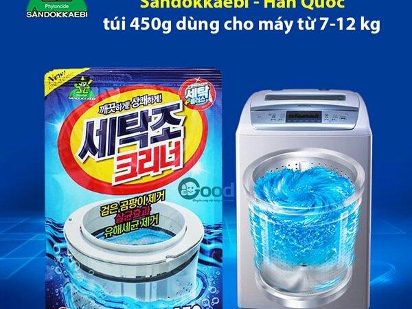 Nước bảo dưỡng máy giặt . khứ mùi hôi