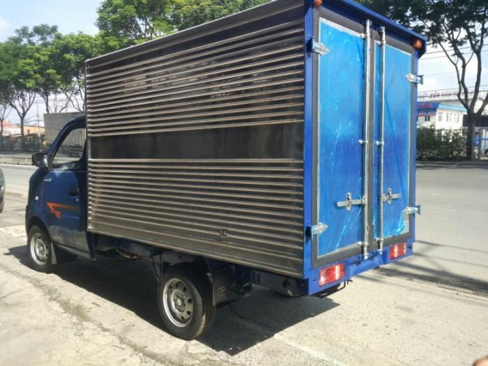 Bán xe tải nhỏ Dongben 870kg thùng kín inox trả góp giá ưu đãi