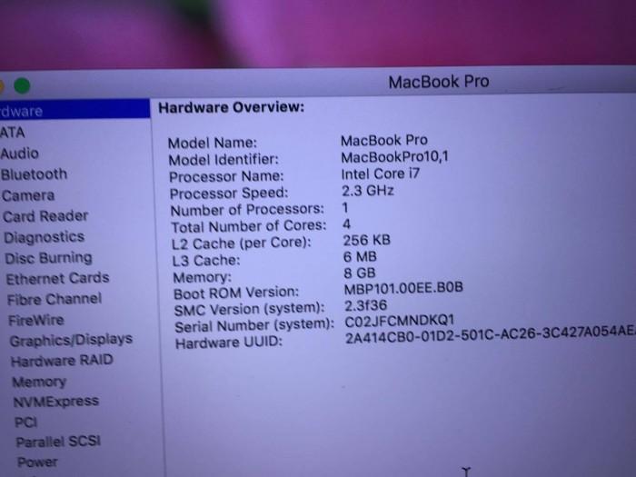 Bán Macbook Pro Retina - Intel core i7 - màn hình 15,4 inch 2012 giá 20tr1