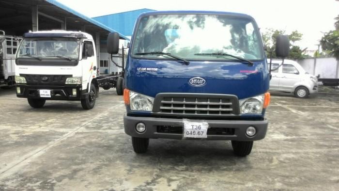 Xe tải HD99 6t5 mui bạc