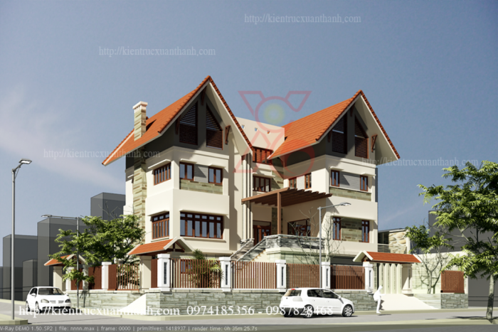 Thiết kế nhà đẹp - Thiết kế nhà chuyên nghiệp ở Thanh Hóa
