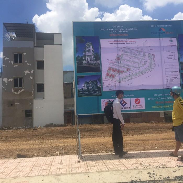 Đất Mặt tiền Nguyễn Văn Quá, DT 5*18, SHR, Quận 12