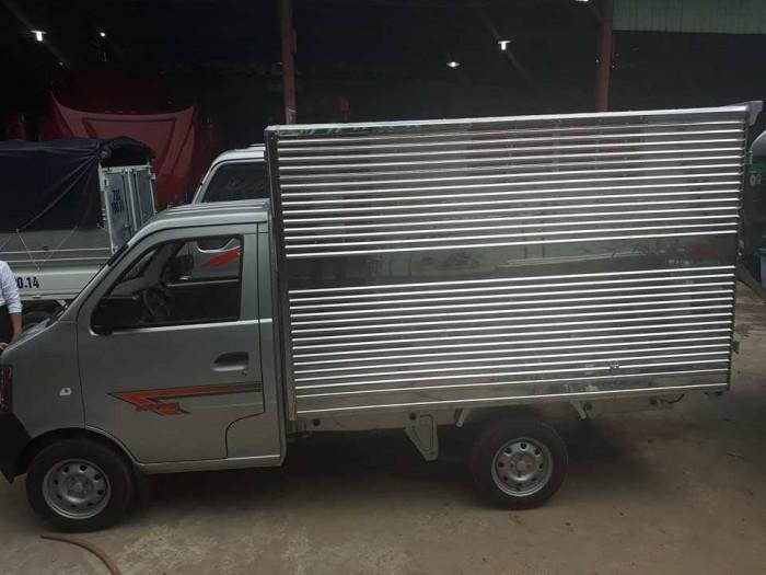 Xe tải dongben thùng kín 770kg