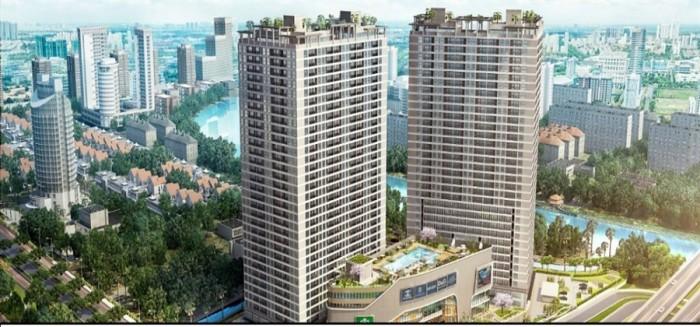 Bán căn hộ ngã 4 Nguyễn Hữu Thọ - Nguyễn Văn Linh, Quận 7. Giá rẻ nhất khu vực chỉ 35 tr/m2.