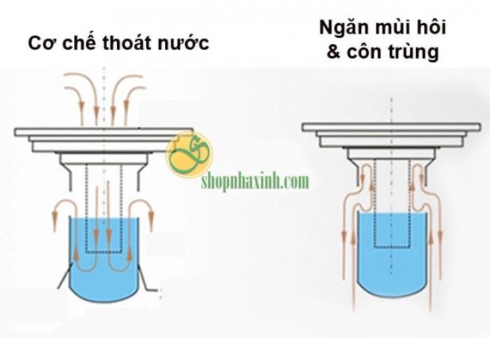 Phễu Thoát Sàn và Máy Giặt Chống Mùi Hôi NX507