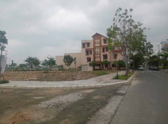 Đất lô góc 2 mt trung tâm Đà Nẵng, quận Hải Châu 175m