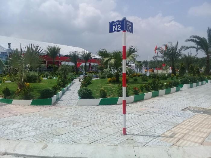 Đất ngay chợ Long Thành, mặt tiền đường 30m, đã có sổ riêng từng nền