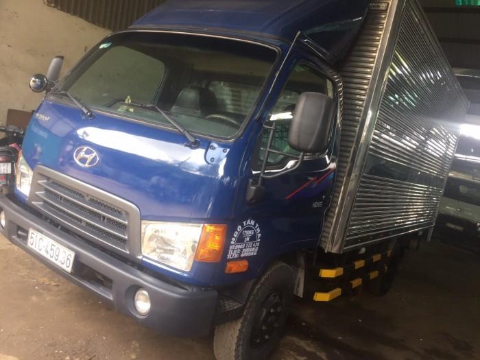 Hyundai hd65 thùng kín vào thành phố 1t85