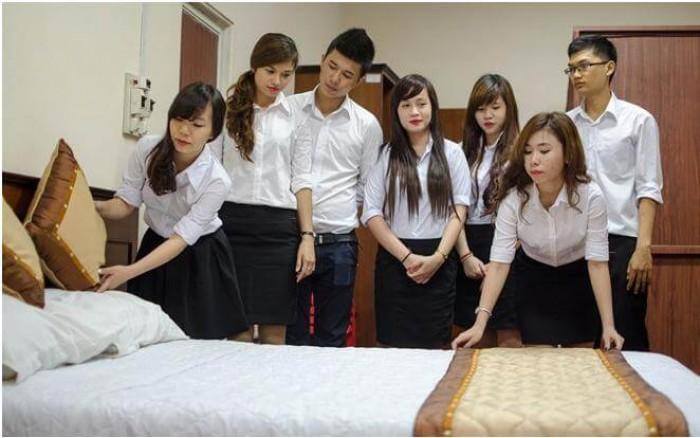 Khóa học đào đạo nghiệp vụ lưu trú, nghiệp vụ buồng phòng.