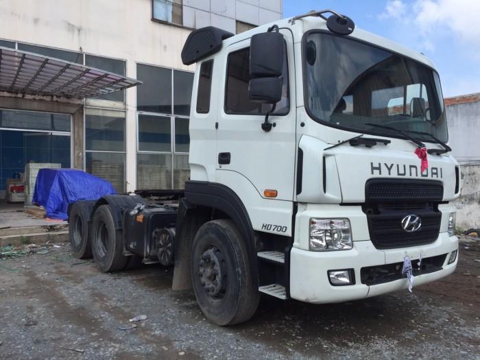 Đầu kéo Hyundai cũ HD700 2015 2