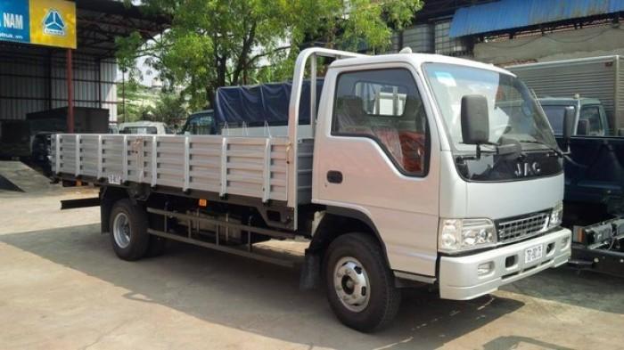 Bán xe tải jac 3.45 tấn cabin vuông tiêu chuẩn nhật bản , xe tải công nghệ isuzu mới . 0