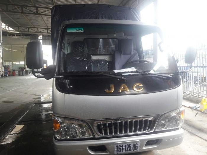 Bán xe tải jac 3.45 tấn cabin vuông tiêu chuẩn nhật bản , xe tải công nghệ isuzu mới . 2