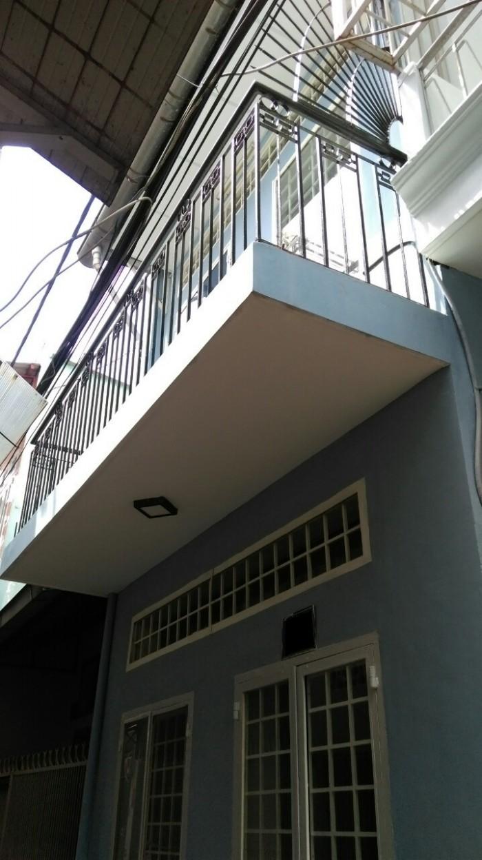 Bán nhà hẻm Nguyễn Sơn, P.Phú Thọ Hoà, Tân Phú: 28m2, giá 2,08 Tỷ.