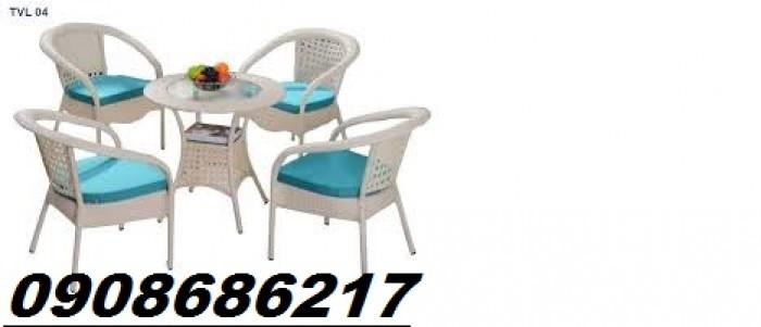 Bàn ghế cafe sân vườn giá rẻ2