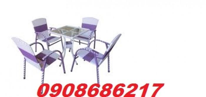 Bàn ghế cafe sân vườn giá rẻ3
