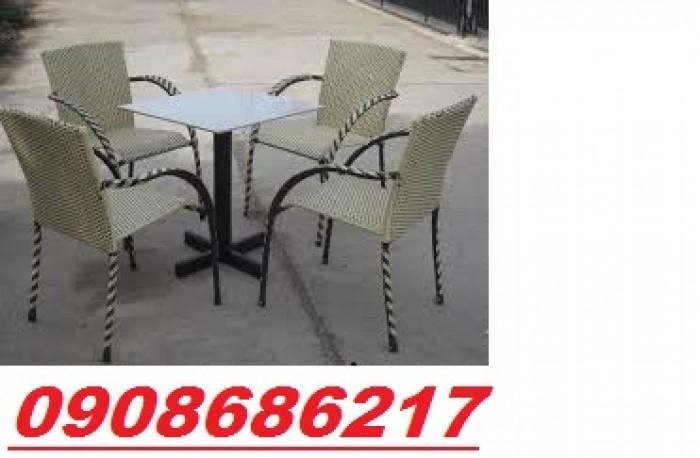 Bàn ghế cafe sân vườn giá rẻ5