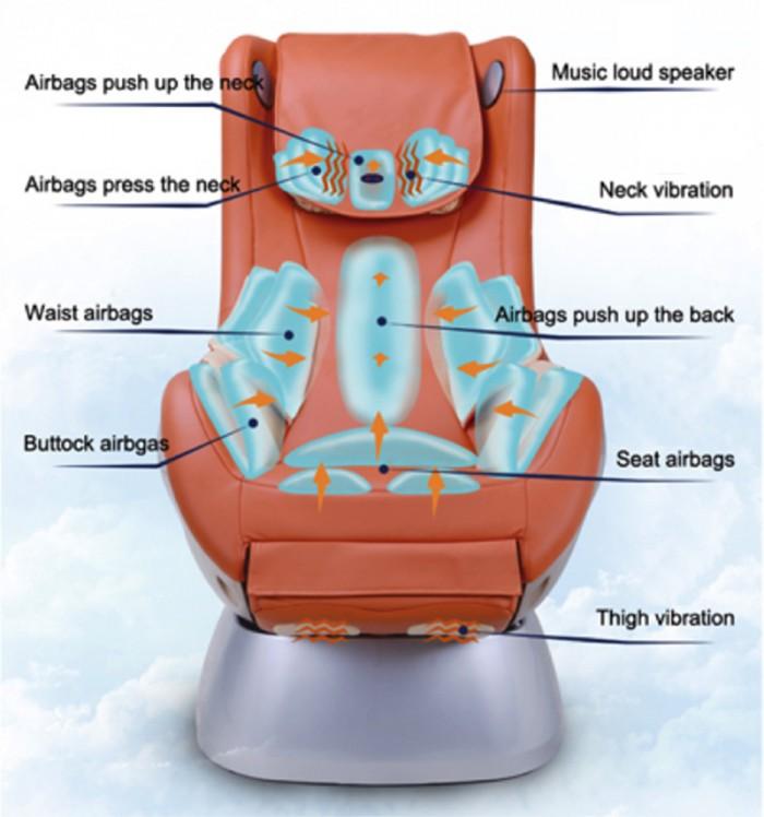 Ghế Massage Music Swing Massage Chair