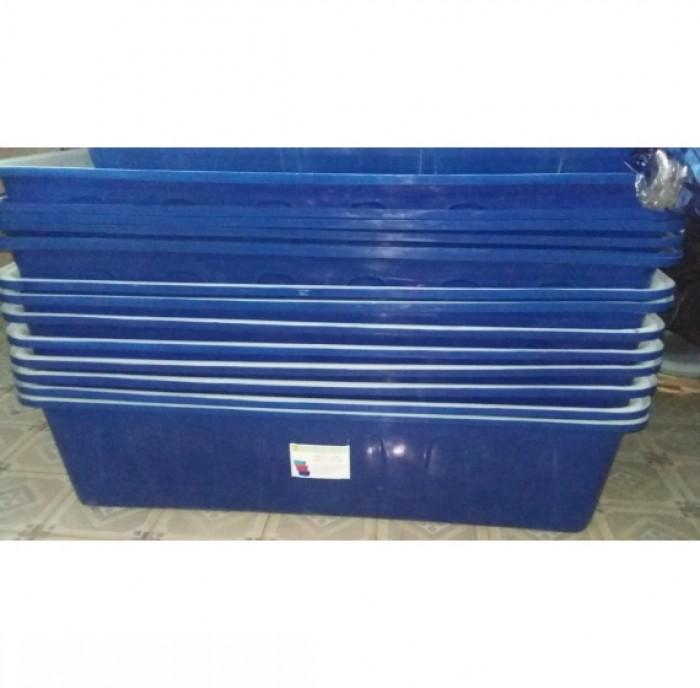 Bán thùng nhựa nuôi cá 1100 lít chữ nhật giá rẻ toàn quốc1