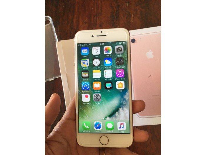 IPhone 7 rose hàng Mỹ0