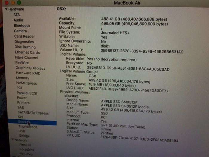 Macbook air 11inch mid 2013 i7 8gb 512ssd new 99%.Zin 100%,Xach tay My.1