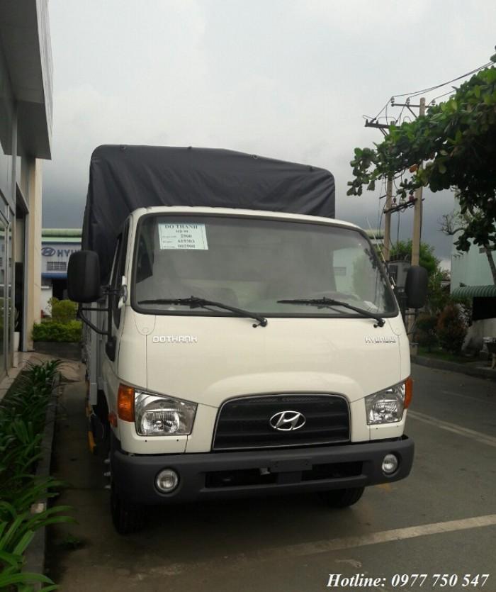 Hyundai HD99 tải trọng 6,5 tấn - Hỗ trợ trả góp lãi suất thấp, hồ sơ duyệt nhanh