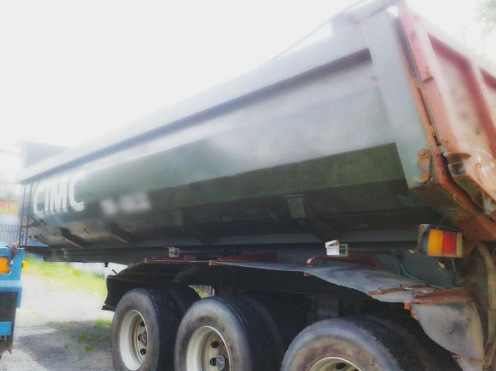 Rơ mooc ben CIMC 31 tấn 25 khối xe có sẵn giao ngay