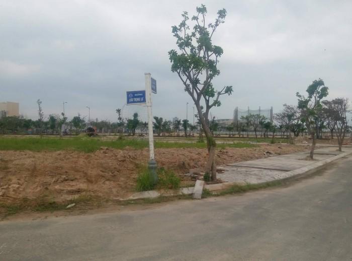 Bán lô đầu hồi đối diện siêu thị DT 122m2 đường Nguyễn Bình giá 4,2 tỷ