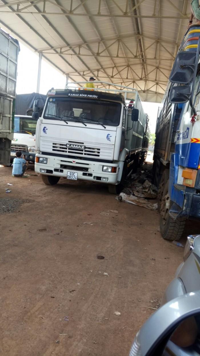 Bán hoặc cho thuê xe tải thùng Kamaz 2016