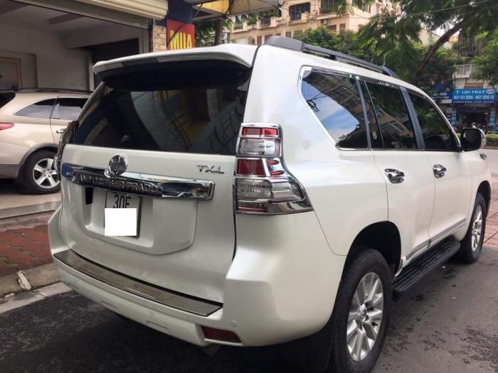Toyota Prado TX.L 2.7L sản xuất 2016,  Màu trắng, Biển Hà Nội,