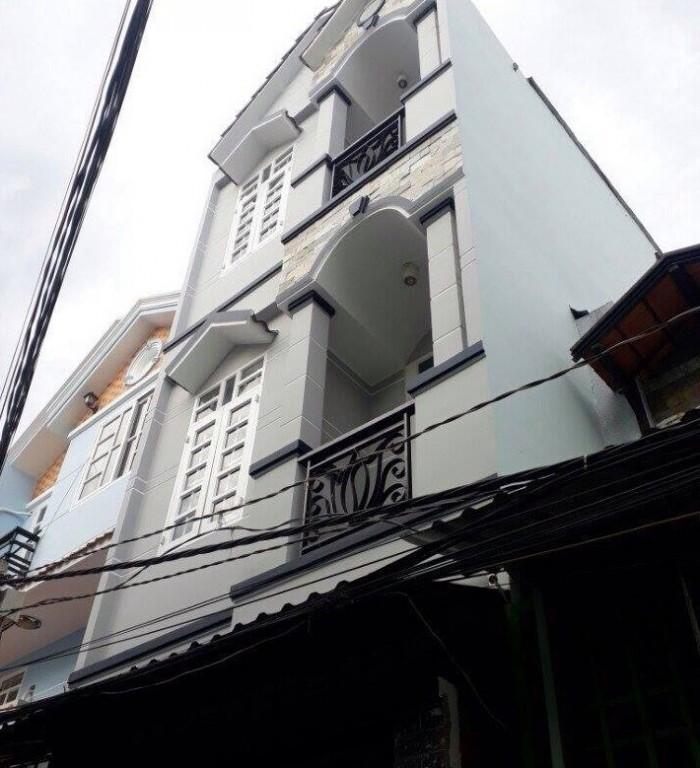 Bán nhà SHR DT 4 x 13 hẻm 4m Huỳnh Tấn Phát giá 2,2 tỷ tặng NT,4PN