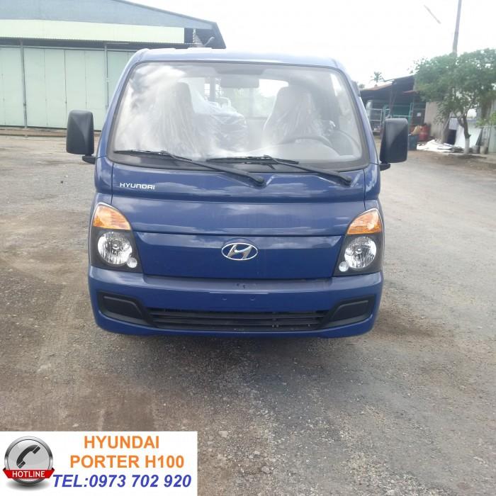 Bán xe tải Hyundai H100 thùng lửng 1.25 tấn