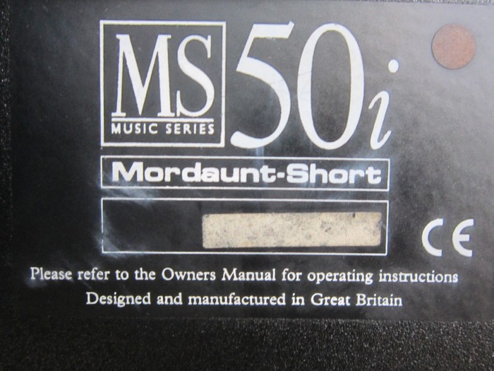 Loa Mordaunt-Short Ms50i