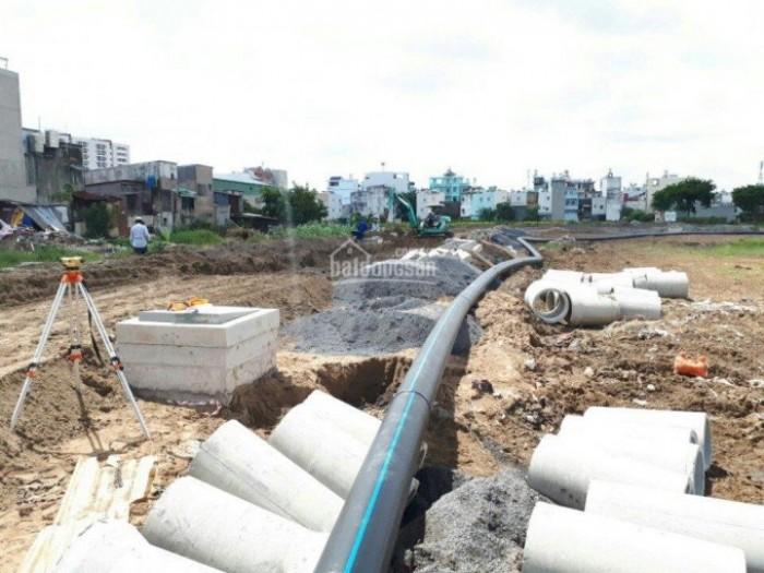 Bán đất mặt tiền kênh Tham Lương, F1, SHR, DT 5*20 giá 1ty5, Quận 12