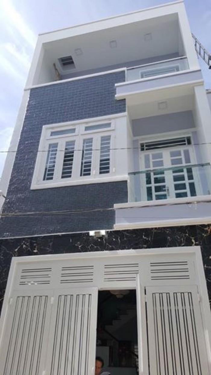 Nhà phố 2 lầu, đường Nguyễn Thị Sáu, Q12