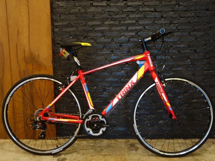 Xe đạp TRINX FREE 1.0 - 2017 ( Đỏ vàng )