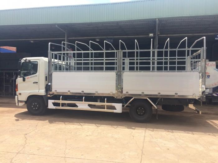 Xe tải Hino FC bửng nhôm (6,4 tấn, Mới 100%)