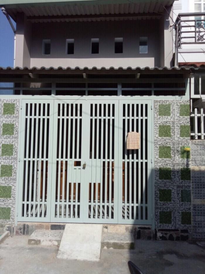 Bán Nhà ở Bình Chánh Nhà Mới Xây Ngay Đường Quách Điêu - Nguyễn Thị Tú
