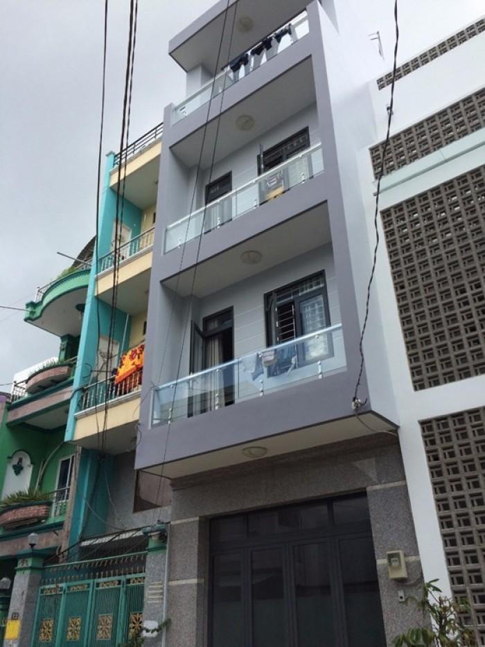 Bán nhà mặt tiền Đường số 8, Quận Bình Tân 4x18m, 1 lầu, giá 4.1 tỷ