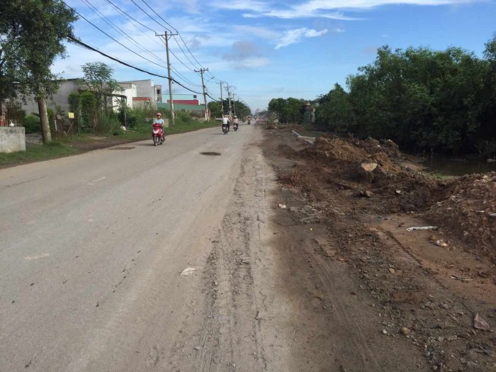 Bán đất mặt tiền đường Nguyễn Bình,Nhà Bè giá cực HOT 13,5 triệu/m
