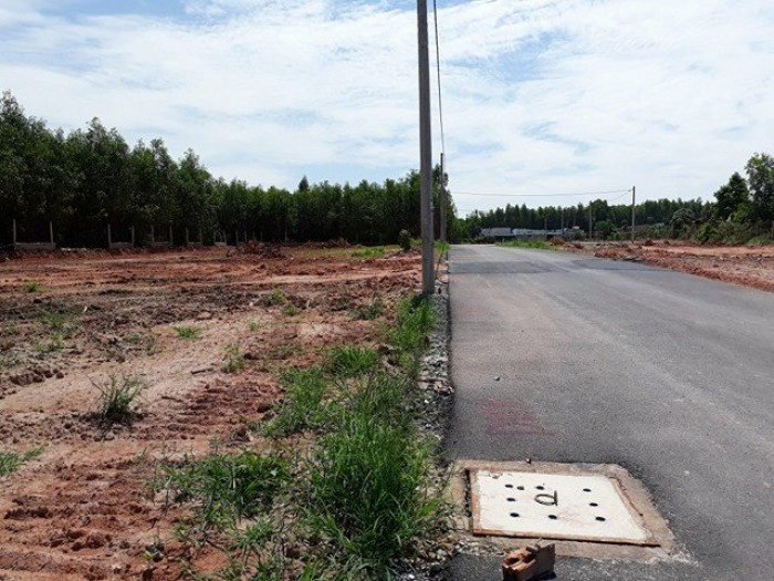 Đất nằm gần Công ty bê tông đúc sẵn HÙNG VƯƠNG đồng khởi