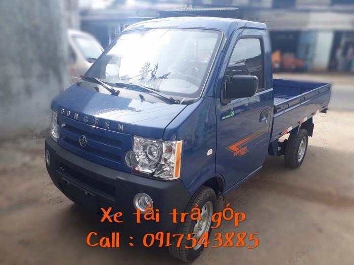 Xe tải DongBen tải trọng 870 kg thùng dài 2m4 0