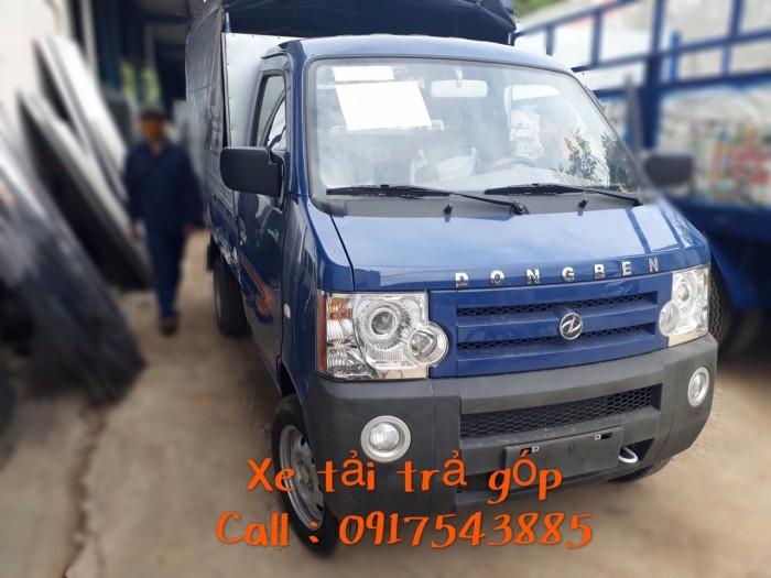 Xe tải DongBen tải trọng 870 kg thùng dài 2m4 1