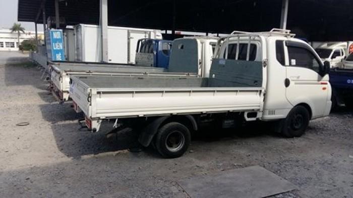 Bán xe đông lạnh thùng lửng mui bạt 1 tấn hyundai porter